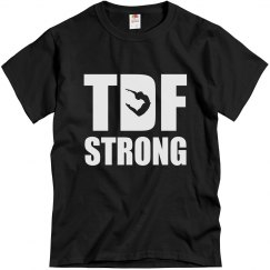 TDF Strong Unisex Tee (boy jumping)