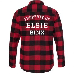 Property Plaid Flannel Red/Black