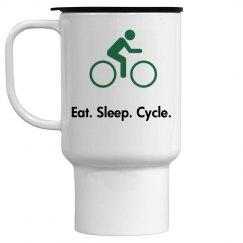 Eat. Sleep. Cycle. Mug