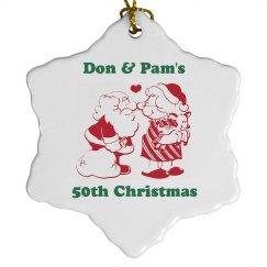 50th Christmas Ornament