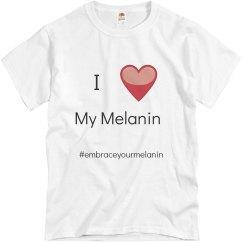 I love my melanin shirt - Men