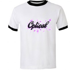Optical Crystal Ringer Tee