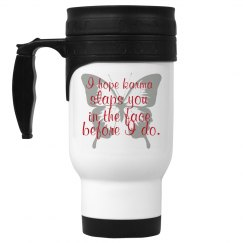 karma coffee cup