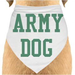 Army dog bandana