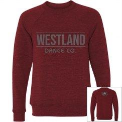 Westland adult-unisex crewneck longsleeve Maroon