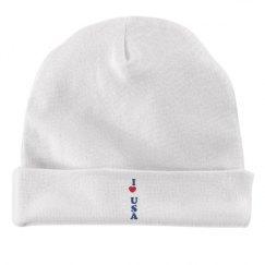 Rabbit Skins Baby Hat