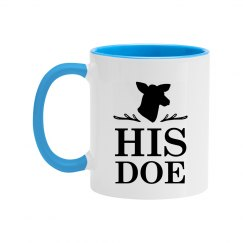 His Doe Color Couples Coffee Mug