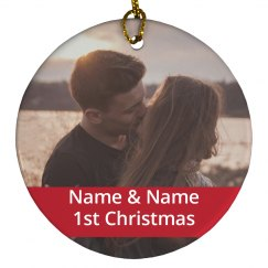 Custom Couples 1st Christmas