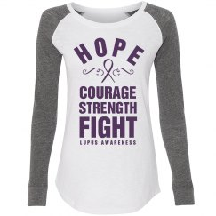 Hope And Courage Lupus Awareness