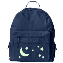 Glow In The Dark Moon And Stars Back Pack