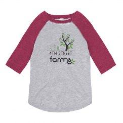4th Street Farms Youth Tee