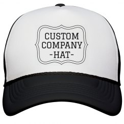 Custom No Minimums Company Hat