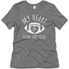 Ladies Relaxed Fit Super Soft Triblend Tee
