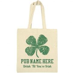 Shamrock Irish Bar Custom Pub
