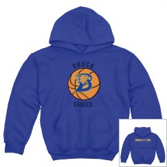 Brock Basketball Hoodie Youth