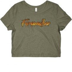 Firewalker UPW Crop Top