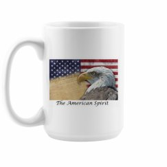 The American Spirit - Coffee Cup