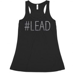 #LEAD Flowy Metallic Dancer Tank