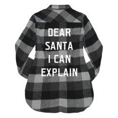 Funny Christmas Santa I Can Explain