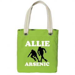 Allie Arsenic Derby Tote