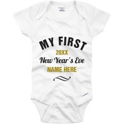 Custom First New Year's Eve White