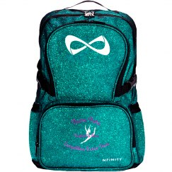 Inspired to Move Glitter Backpack