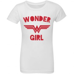 Wonder Girl Youth Ruffle