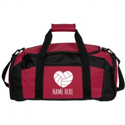 Personalize a Volleyball Bag