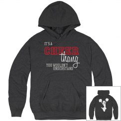 it's a cheer thang hoodie