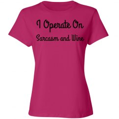 Sarcasm and Wine
