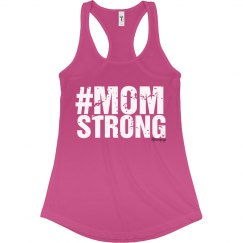 #MOMSTRONG bold - white print