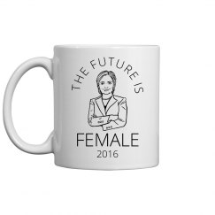 Future Is Hillary Clinton Mug