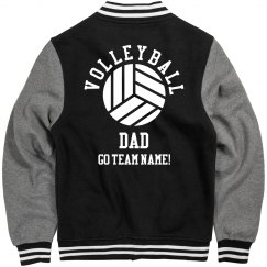 Custom Volleyball Dad Jacket