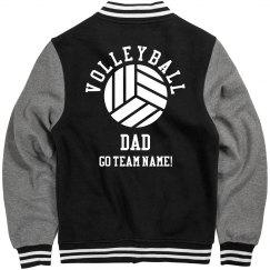 Custom Volleyball Dad Jacket