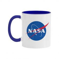 Trendy Nasa Blue Coffee Mug