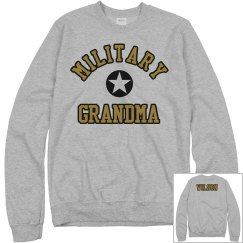 Custom & Proud Military Grandma