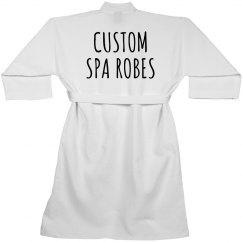 Create a Custom Spa Robe!