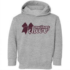 Mustang Cheer Toddler Sweatshirt