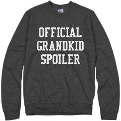 Official Grandkid Spoiler