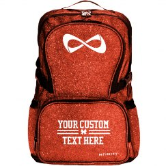 Custom Text Cheer Backpack