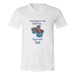 Better than choc muffins: DAD!