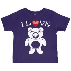 I love Teddy Bear!