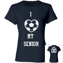Soccer Mom I Love My Senior