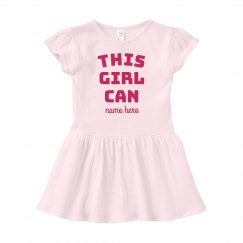 This Girl Can Custom Infant Dress