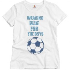 Blue For The Boys Tee
