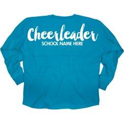 Custom Cheerleader Jersey