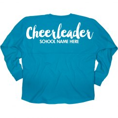 Custom Cheerleader Jersey