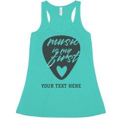 Music Is My First Love Crop