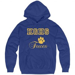 KGHS Foxes w/Paw