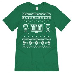 Happy Kwanzaa Ugly Sweater Tee